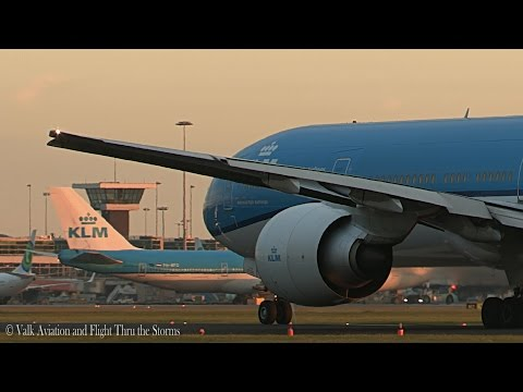 First Flight as First Officer KLM B777 @ FO Anne Dijkman