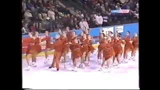 Чемпионат мира по синхронному фигурному катанию(Записал в старые и добрые Советские времена с канала