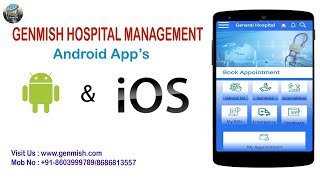 GENMISH HOSPITAL MANAGEMENT|| ANDROID APPLICATION|| FREE DEMO ||DOCTORS APPOINTMENT BOOKING ONLINE screenshot 5