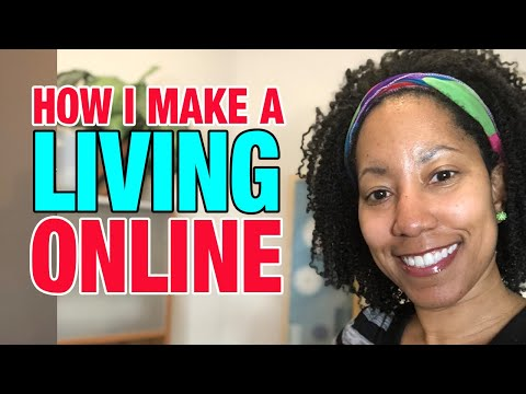 How I Make A Living Online (Entrepreneur) - Make Money on The Internet