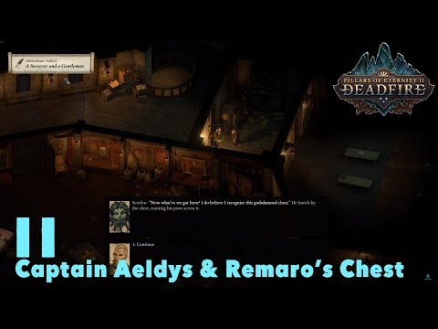 Speak With Captain Aeldys Remaros Chest