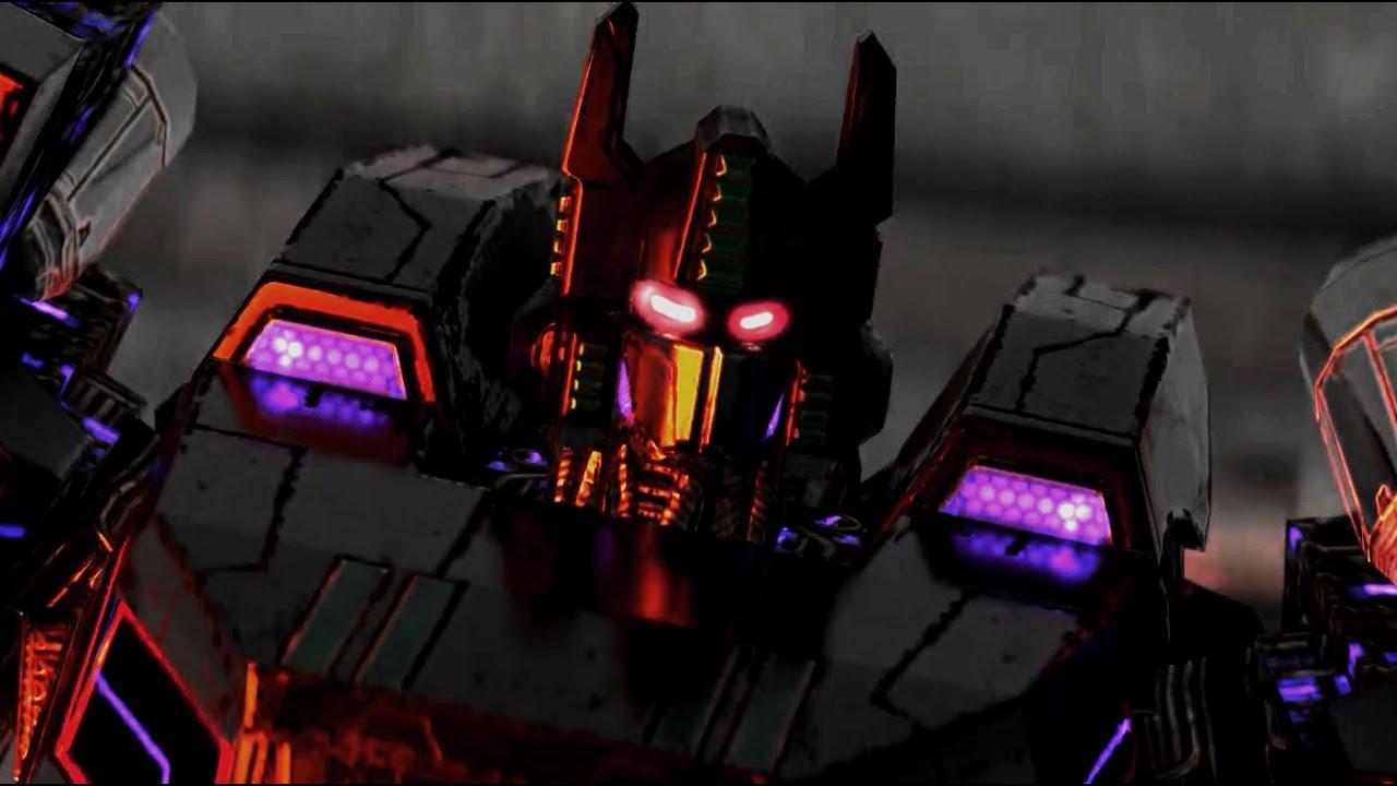 Transformers Fall Of Cybertron Nemesis Faces Optimus in DOOM Eternal
