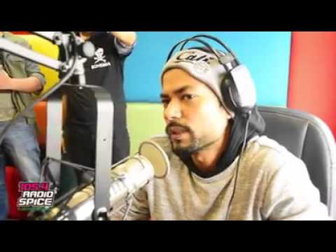 BOHEMIA the punjabi Rapper's Latest interview on spice Radio Dubai BOHEMIA the punjabi rapper 2016