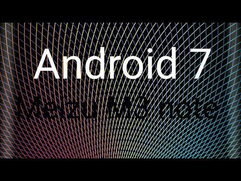 Как обновить андроид на мейзу м3 ноут