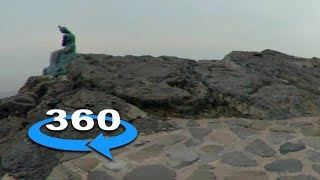 VR 360 Video Of Busan Rock Formation