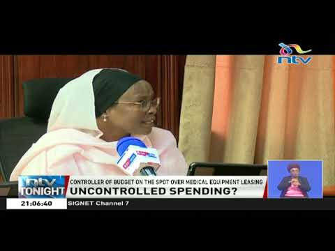 Budget Controller On The Spot Over Medical Equipment Leasing