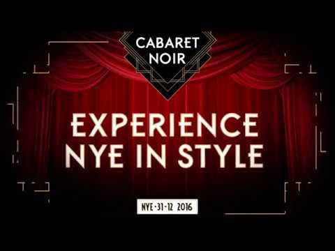 Cabaret Noir NYE 2016 - AIR Amsterdam
