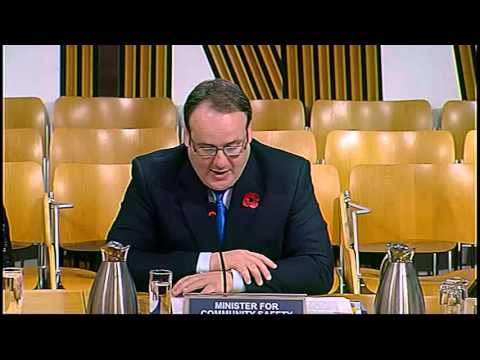 Justice Committee - Scottish Parliament: 10th November 2015