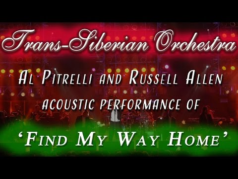 Trans-Siberian Orchestra performs FIND MY WAY HOME acoustic