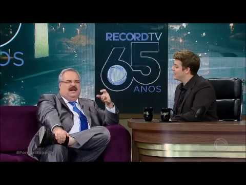 Porchat faz agradecimento especial a Gilberto Barros