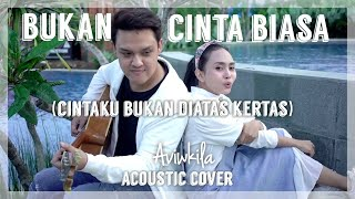 Download lagu Siti Nurhaliza - Bukan Cinta Biasa (CINTAKU BUKAN DIATAS KERTAS TIKTOK) | Acoustic Cover