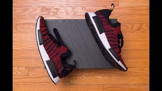 NMD R1 Sole + NMD R2 Upper = Adidas NMD R1 STLT PK 'Primeknit' Review and On Feet