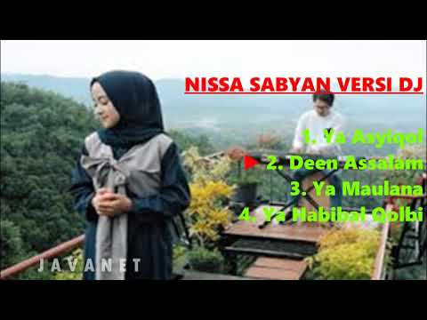 NISSA SABYAN SHOLAWAT VERSI DJ   FULL BASS