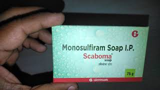 Scaboma Soap review in Hindi