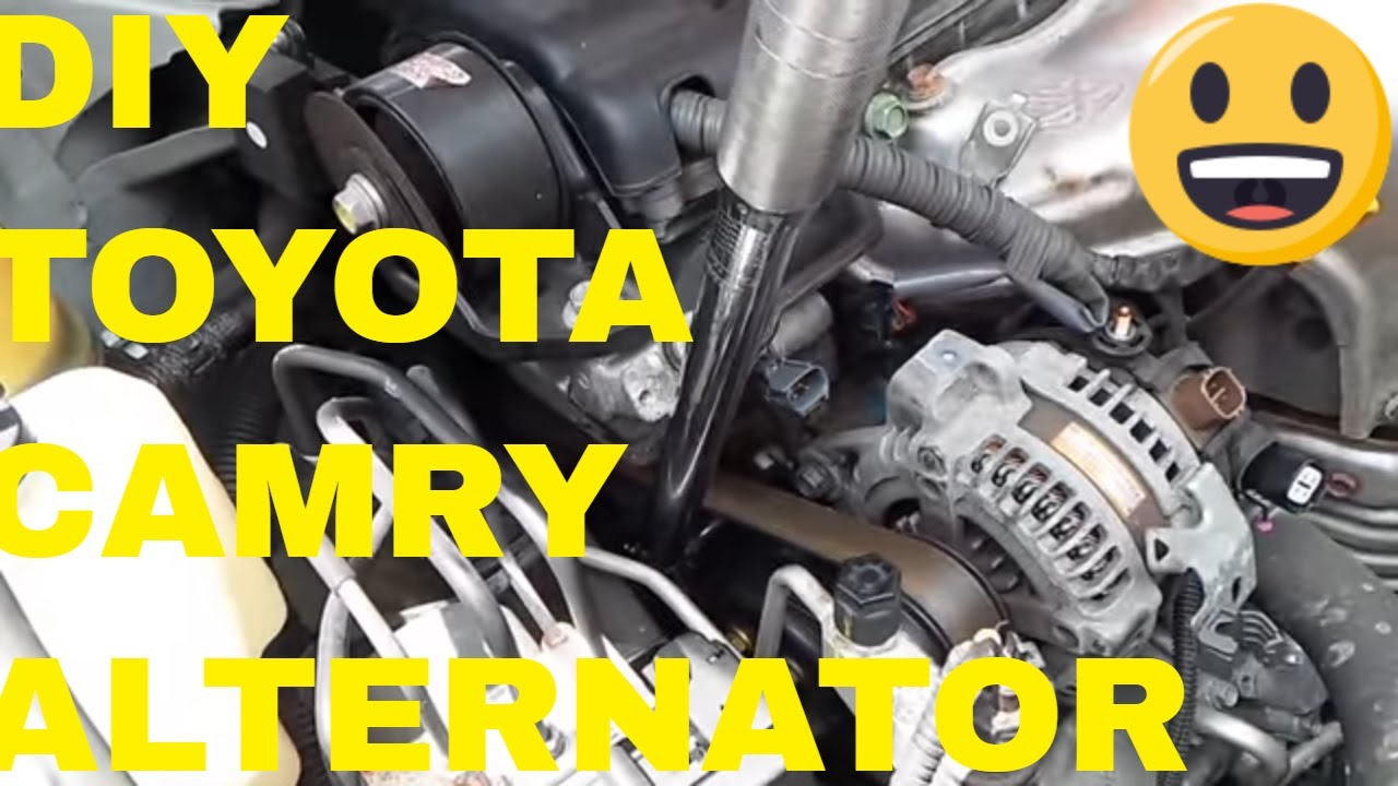 change alternator on toyota camry [ 1280 x 720 Pixel ]