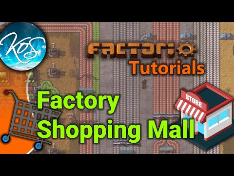 Factorio Tutorials: Factory Shopping Mall - YouTube
