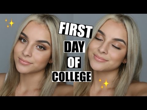 FIRST DAY OF COLLEGE | Aidette Cancino