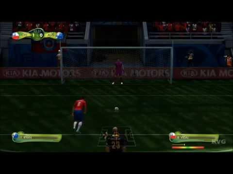 2014 FIFA World Cup Brazil - Chile vs Australia Gameplay [HD]
