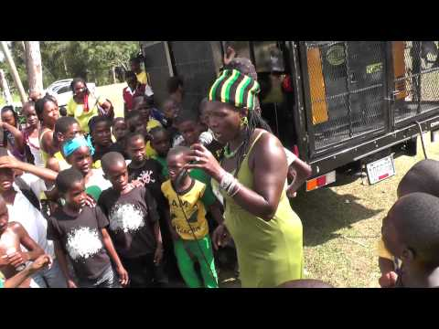 Queen Makeda Performs at Jamaica Day Celebration at the Church Hill School in Hanover Parish