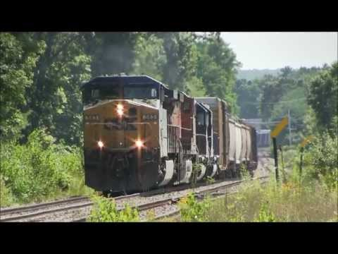 HD BNSF GE on Pan Am freight SEPO at Plaistow,NH 07/19/2012