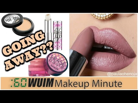 Is Benefit Getting RID of Erase Paste? + HUGE Sale at Dose of Colors! | Makeup Minute