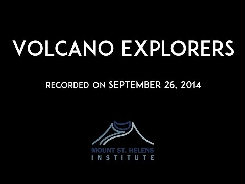 Volcano Explorers with Cynthia Gardner