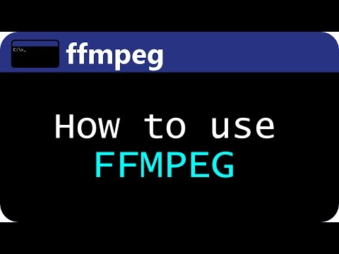 How to use FFMPEG