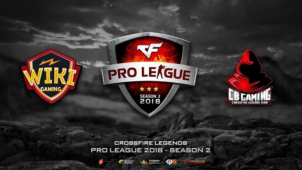 CFL | Pro League 2018 - Season 2 | Wiki Gaming vs CB Gaming | BO2
