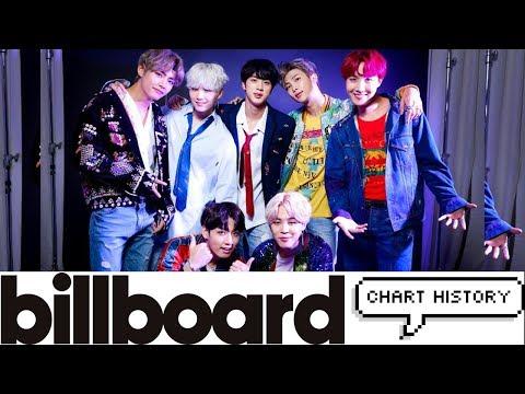 BTS BILLBOARD CHART HISTORY (2013 -2018)
