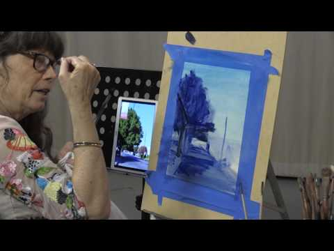 Oil Painting Exercise Three: Landscape, Part Two