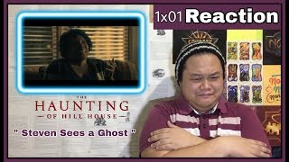 """The Haunting of Hill House 1x01 """" Steven Sees a Ghost """" Reaction"""