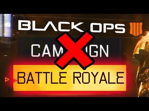 BLACK OPS 4 HAS BATTLE ROYALE & NO CAMPAIGN. (Rumour)