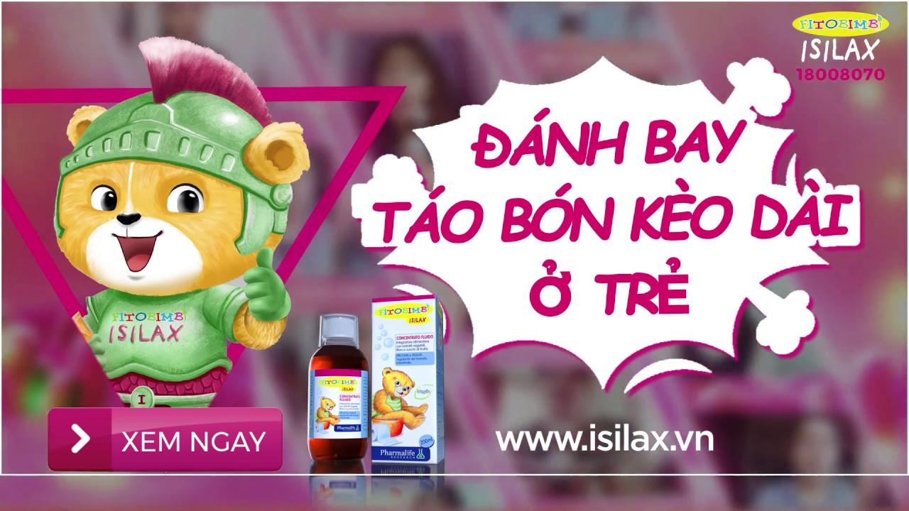 Fitobimbi Isilax - Sản phẩm trị táo bón kéo dài cho trẻ