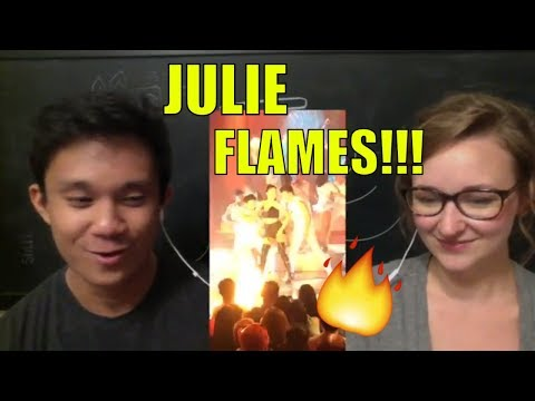 Julie Anne San Jose - Flames REACTION