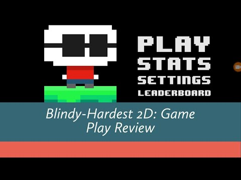 Blindy - Hardest 2D Platformer (Android/Ios) Gameplay Review ( Arcade , Puzzle ) [1440p/60fps]