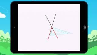 Vidéo 1 Leçon Découvre l'angle droit, aigu et obtus
