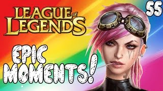 League of Legends Epic Moments - Thresh Beatdown, Pro Vayne, Longest Yard