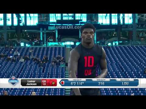 Lamar Jackson NFL Combine Performance