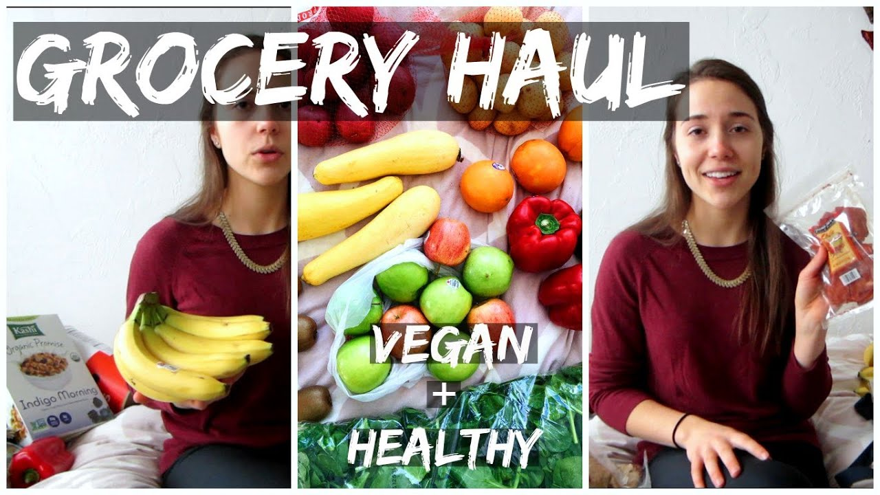 GROCERY HAUL || Trader Joes, Giant Eagle, and More! (Vegan + Healthy)