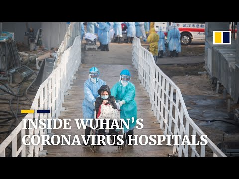 Life inside China's rapidly built hospitals in Wuhan, the epicentre of the coronavirus outbreak