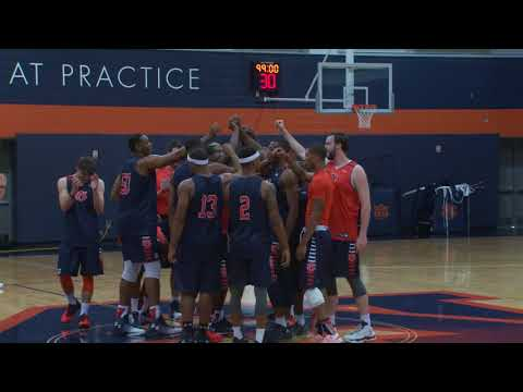 Scenes from Auburn's first basketball practice of 2017-18 season