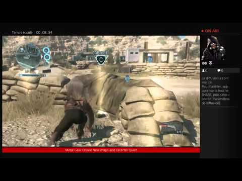 [Metal Gear Online] - Knife Gameplay! New Map! Afro!? from YouTube · Duration:  3 minutes 39 seconds