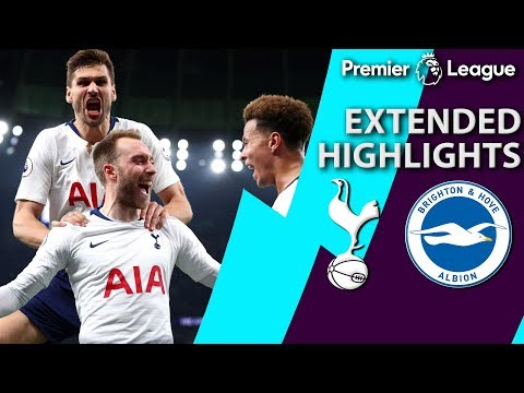 Tottenham v. Brighton | PREMIER LEAGUE EXTENDED HIGHLIGHTS | 4/23/19 | NBC Sports