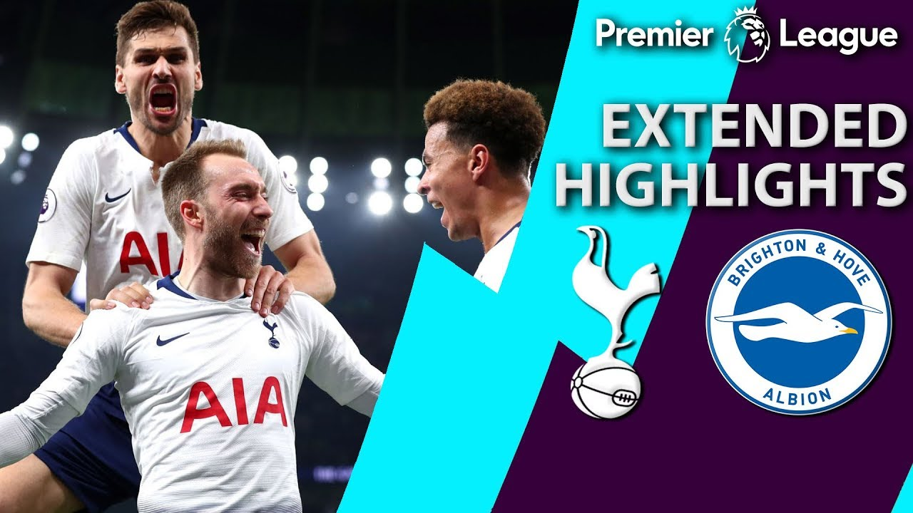 Tottenham v. Brighton | PREMIER LEAGUE EXTENDED HIGHLIGHTS | 4/23/19 | NBC Sports