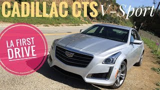 Cadillac CTS V-Sport | Bang For Your Buck!