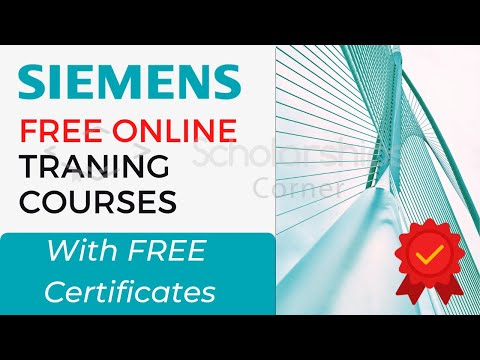 Free Engineering Online Courses With Free Certificates | Free Training Courses By Siemens