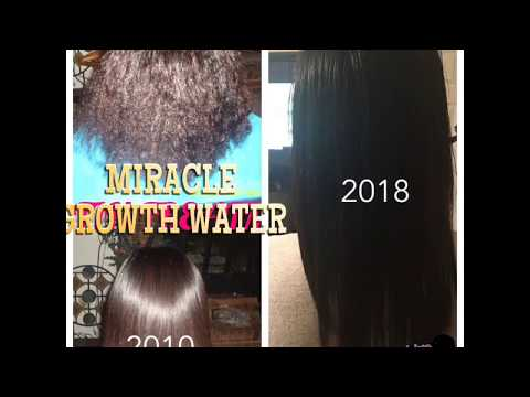 MIRACLE GROWTH WATER GET AMAZING HAIR  RESULTS FROM RICE TREATMENT