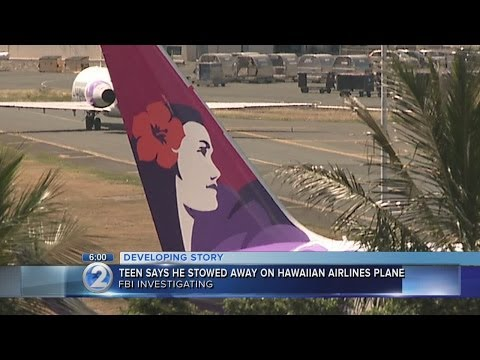 FBI investigating stowaway of Hawaiian Airlines flight