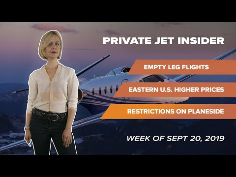 Private Jet Insider. Week of Sept 20, 2019. Episode 2