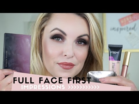 Full Face First Impressions Review || New Products - Elle Leary Artistry